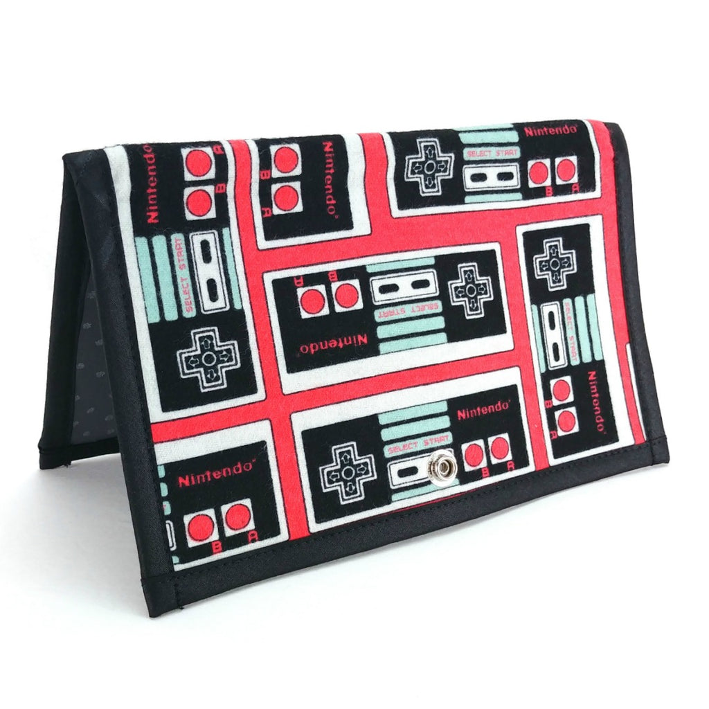 miPattern Wallet - Nintendo (Flannel):miPattern Wallet,Slipped Stitch Studios:Slipped Stitch Studios