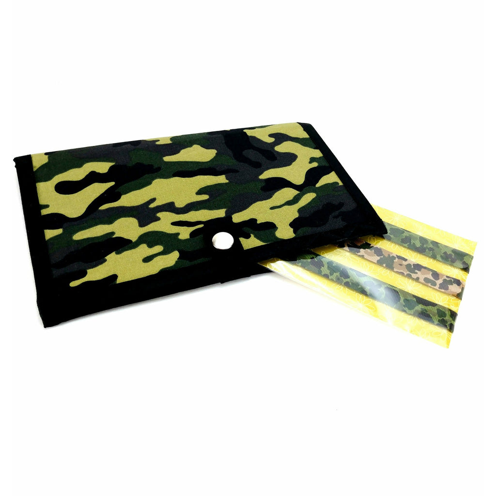 miPattern Wallet & Magnet Set - Camo:Sets,Slipped Stitch Studios:Slipped Stitch Studios
