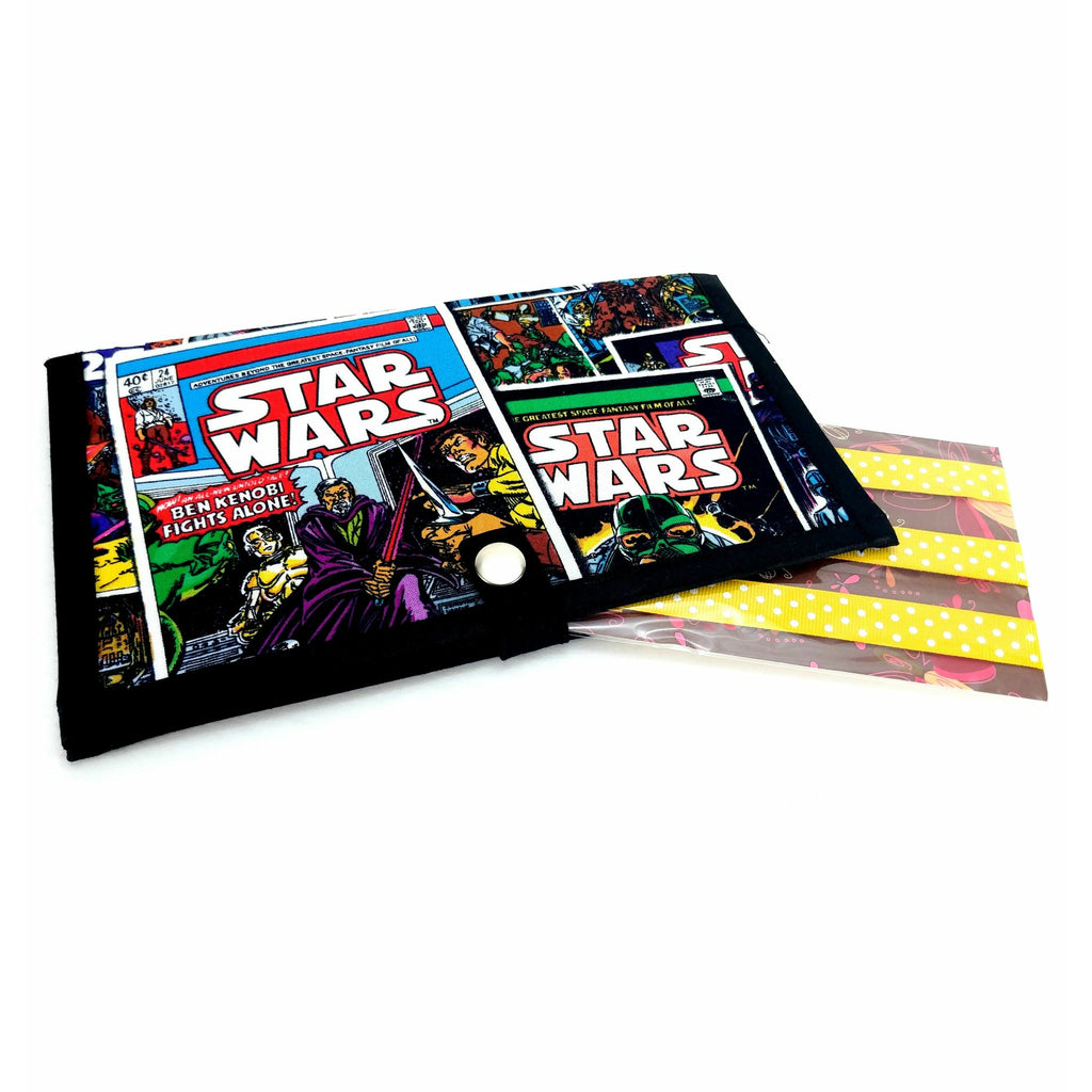 miPattern Wallet & Magnet Set - Star Wars Comics:Sets,Slipped Stitch Studios:Slipped Stitch Studios