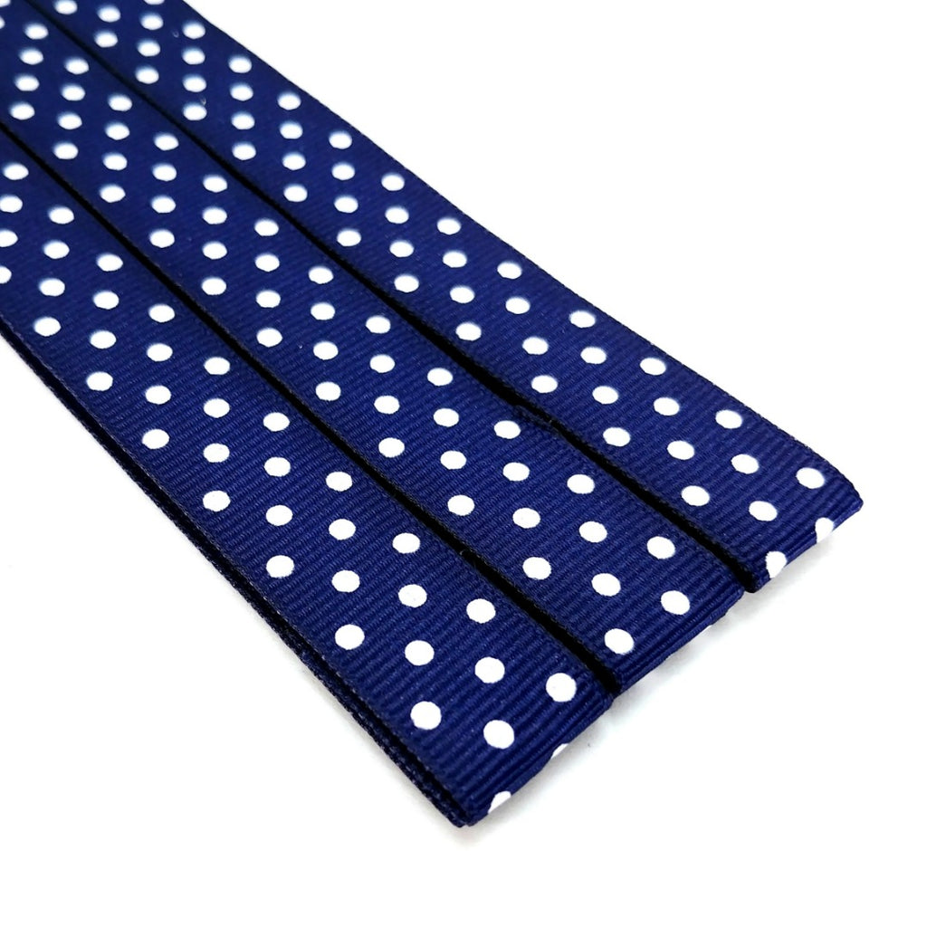 Magnetic Pattern & Chart Keeper - Polka Dots (Navy Blue):miPattern Magnets,Slipped Stitch Studios:Slipped Stitch Studios