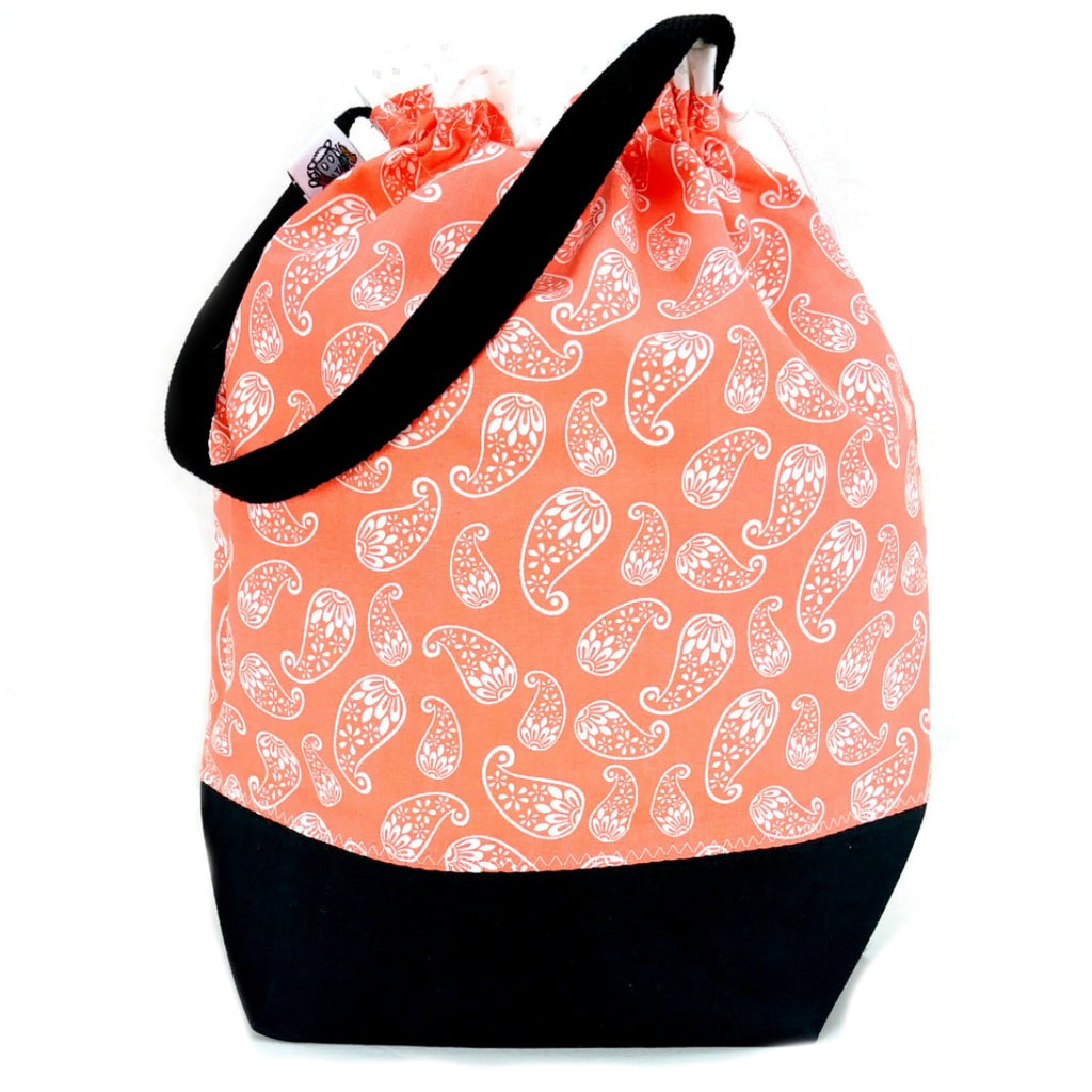 Double-Project Plus - Creamsicle:Double Project Tote,Slipped Stitch Studios:Slipped Stitch Studios