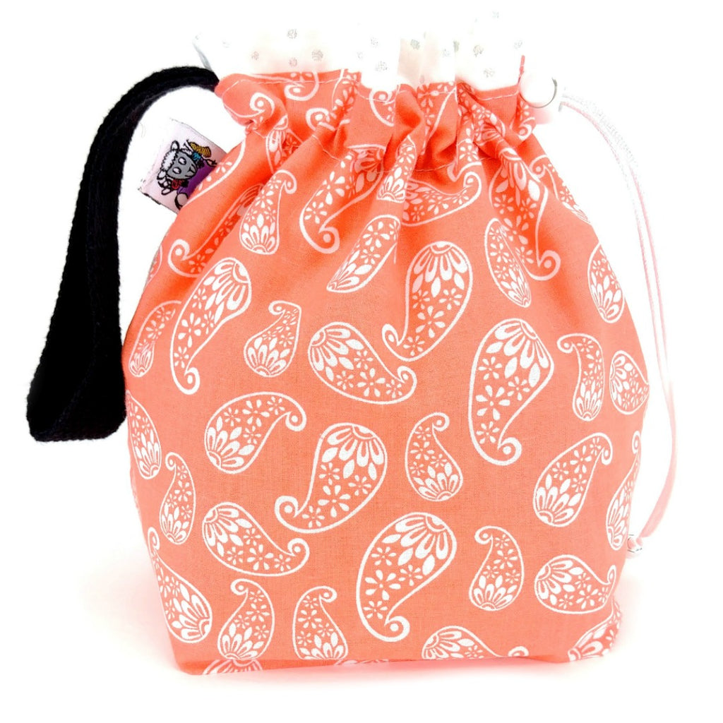 Sock Plus - Creamsicle:Sock Plus Project Bag,Slipped Stitch Studios:Slipped Stitch Studios