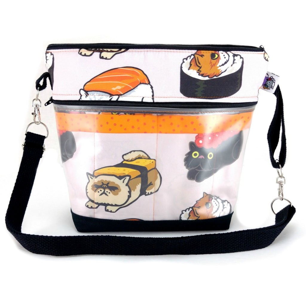 Go Crafty - Cats & Dogs - EXTRAS - Sushi Cats:Tool Cases & Accessories,Slipped Stitch Studios:Slipped Stitch Studios