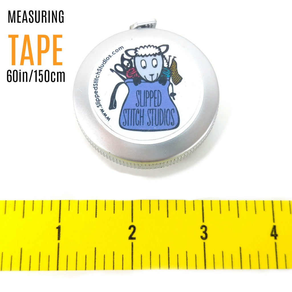 Measuring Tape:Accessories,Slipped Stitch Studios:Slipped Stitch Studios