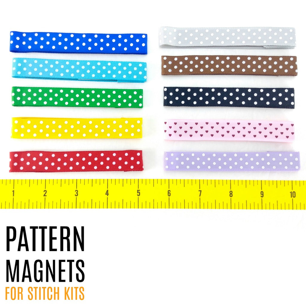 Mini Pattern Magnet (Single):Accessories,Slipped Stitch Studios:Slipped Stitch Studios