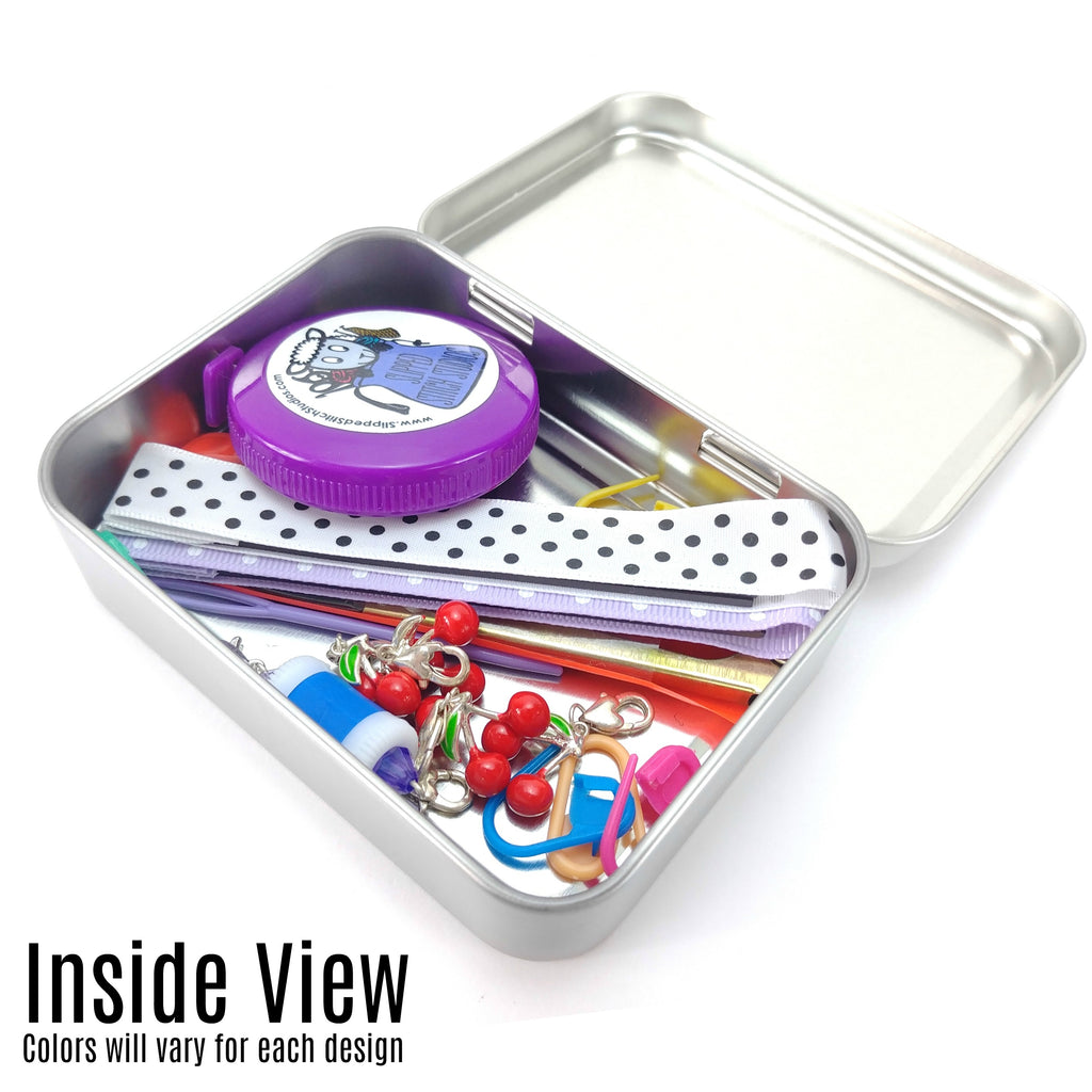Knotty Knitter </br> Crafter's Tool Kit:Tool Box,Slipped Stitch Studios:Slipped Stitch Studios