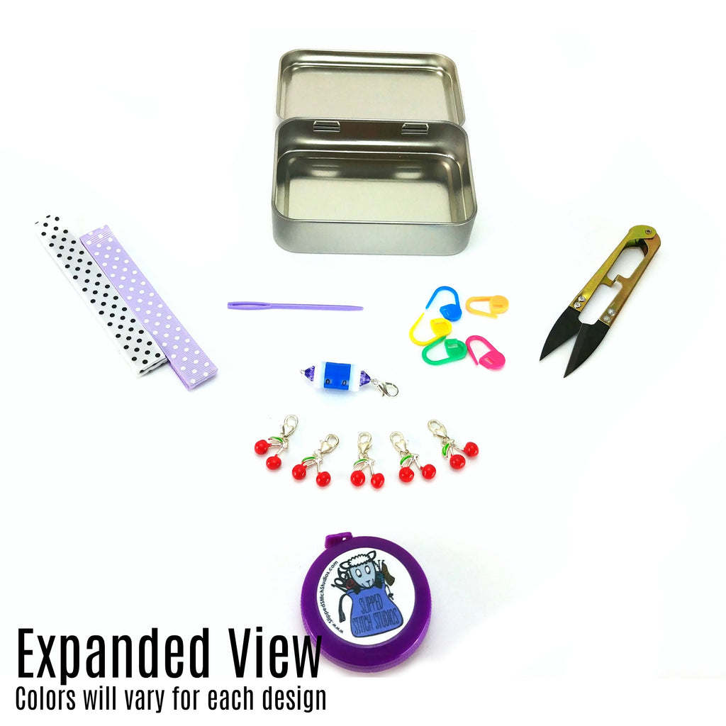 Frida </br> Crafter's Tool Kit (Complete):Tool Box,Slipped Stitch Studios:Slipped Stitch Studios