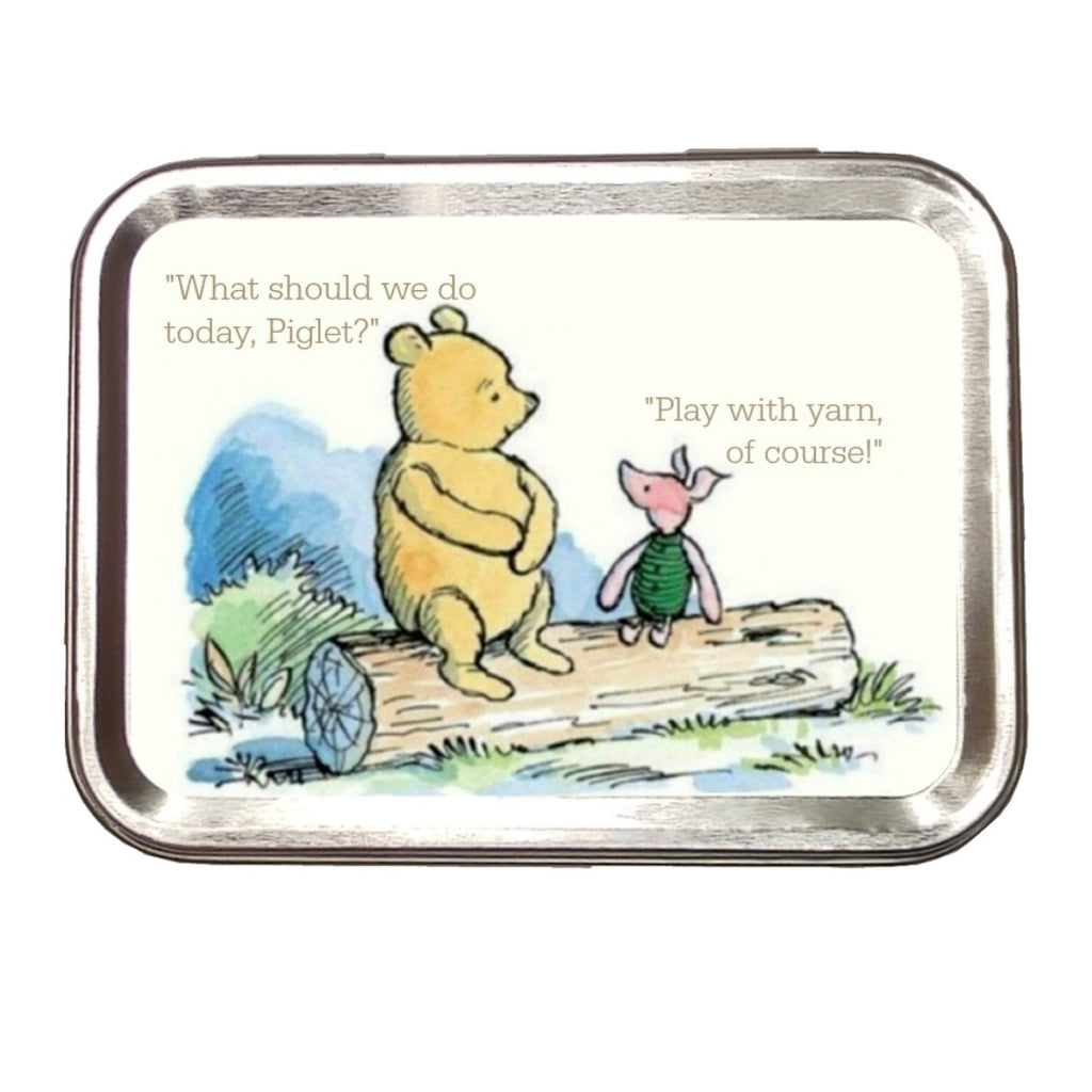 Pooh and Piglet </br> Crafter's Tool Kit:Tool Box,Slipped Stitch Studios:Slipped Stitch Studios