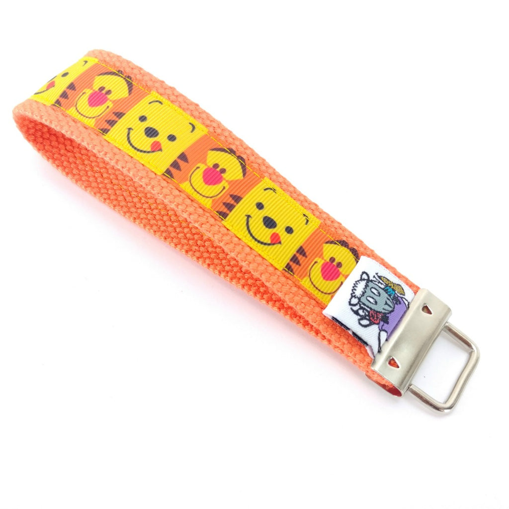 Tigger and Pooh </br> Travel Lanyard:Travel Lanyard,Slipped Stitch Studios:Slipped Stitch Studios