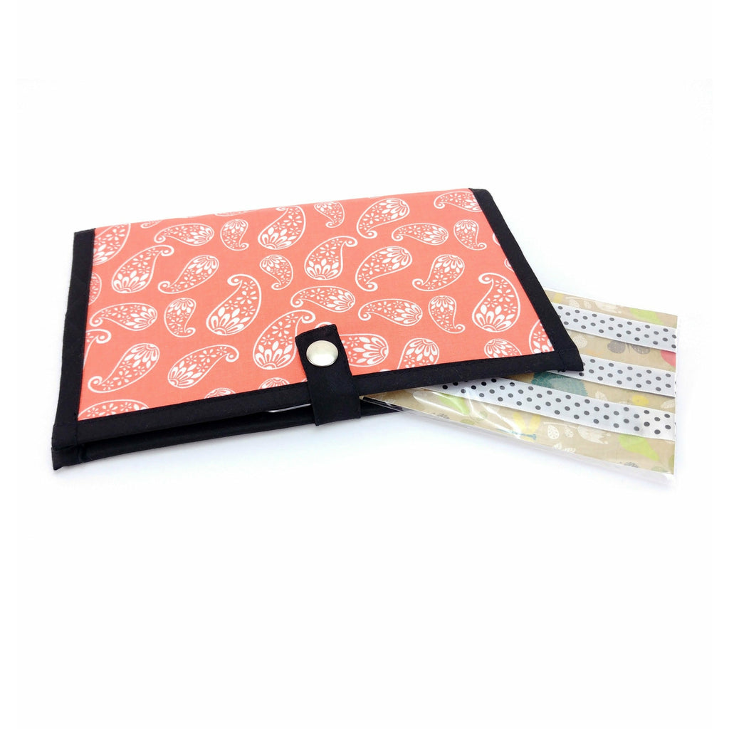 Creamsicle </br> Pattern Holder & Magnet Set </br> Knit & Crochet Pattern Organizer:Pattern Wallet,Slipped Stitch Studios:Slipped Stitch Studios