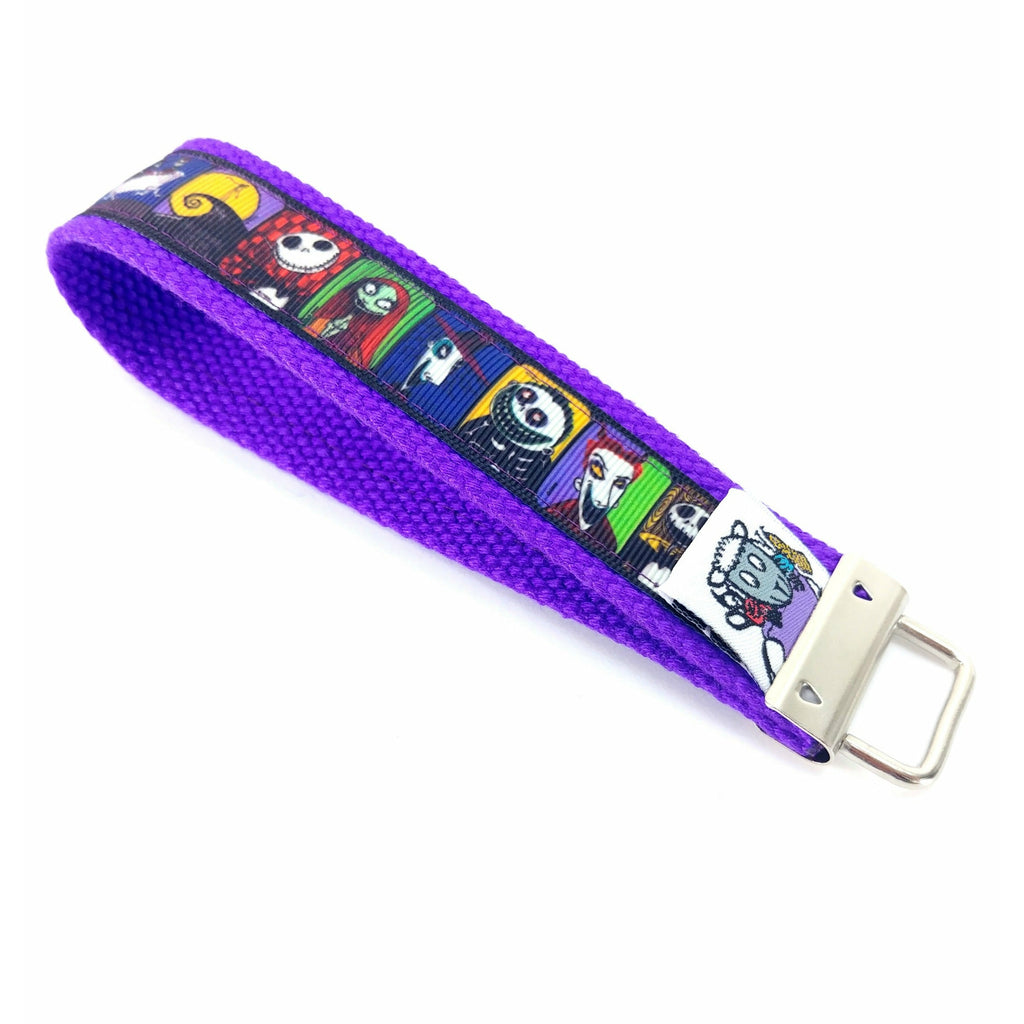 Nightmare Before Christmas Travel Lanyard </br> Pre Order:Travel Lanyard,Slipped Stitch Studios:Slipped Stitch Studios