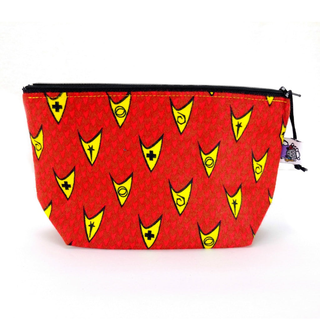 Warp Drive to the Flip Side (Flannel) </br> Zipper Notion Pouch
