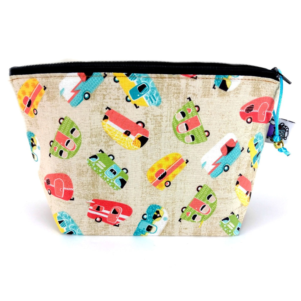 Glamping </br> Zipper Notion Pouch:Zipper Notion Pouch,Slipped Stitch Studios:Slipped Stitch Studios