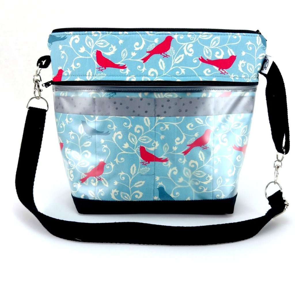 Bird Song </br> Go Crafty Hybrid Sling:Hybrid Tool Case,Slipped Stitch Studios:Slipped Stitch Studios
