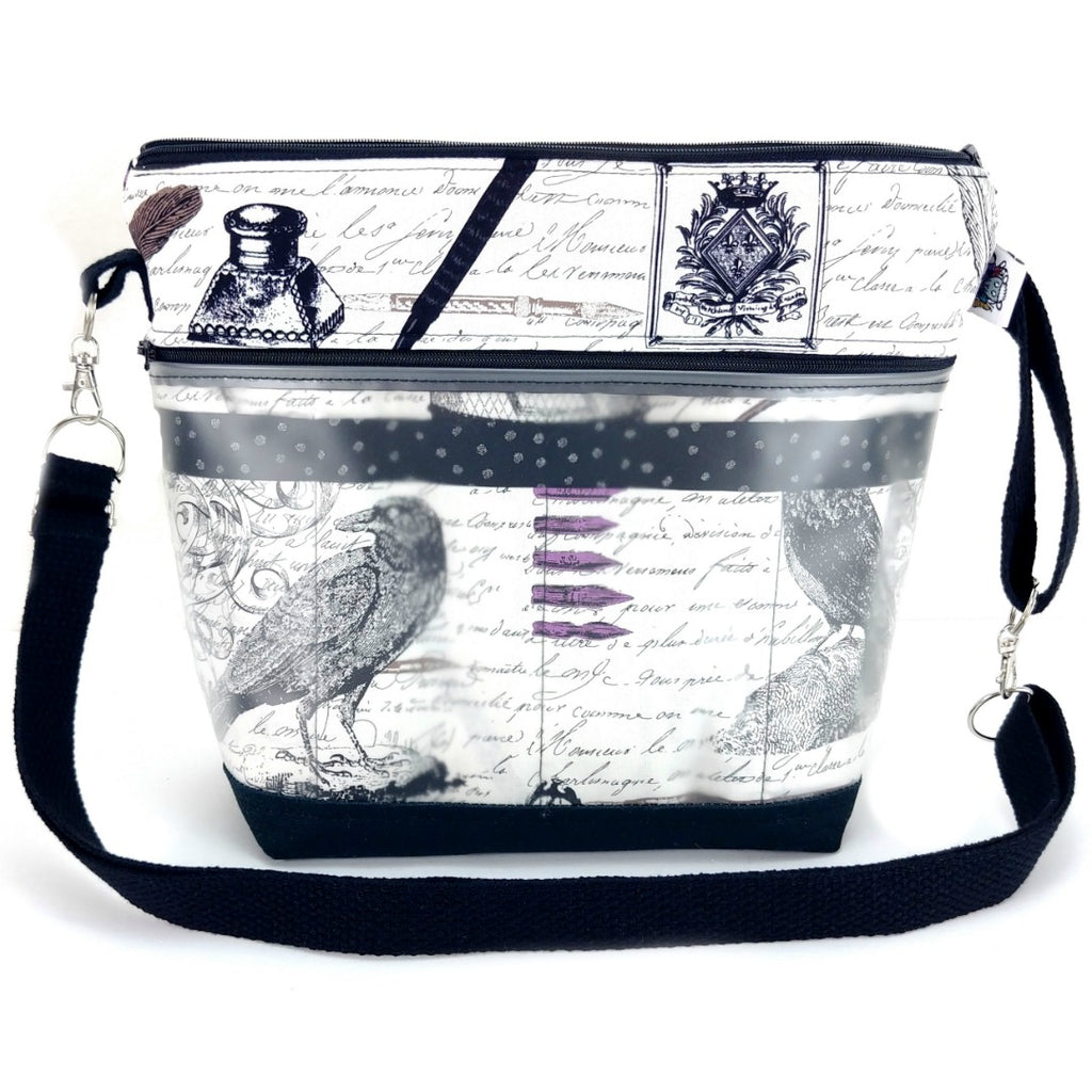 Quoth the Raven (Poe) </br> Go Crafty Hybrid Sling:Hybrid Tool Case,Slipped Stitch Studios:Slipped Stitch Studios