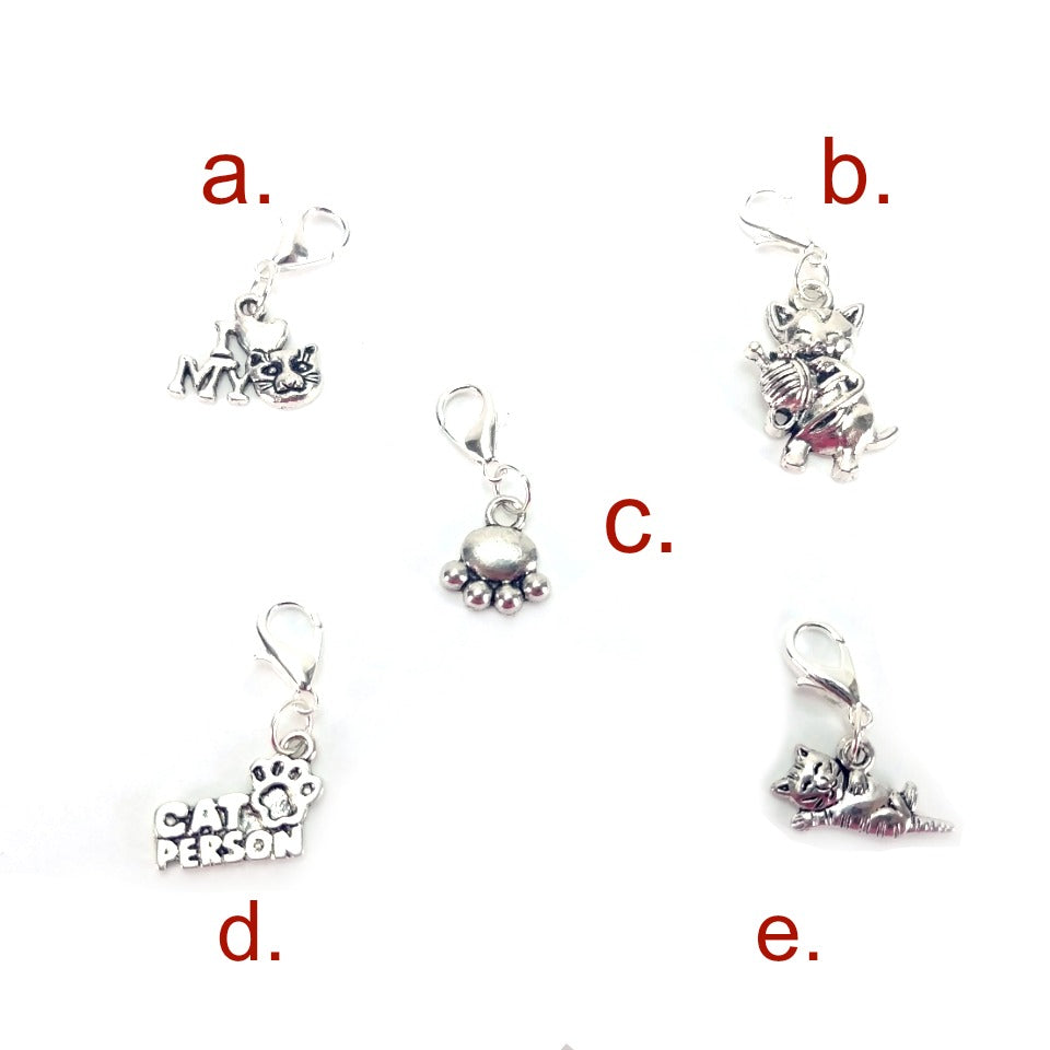 Pick Your Pet - Cat </br> Stitch Marker (Single):Stitch Markers,Slipped Stitch Studios:Slipped Stitch Studios