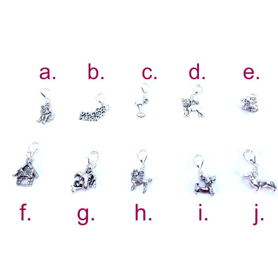 Pick Your Pet - Dog </br> Stitch Marker (Single):Stitch Markers,Slipped Stitch Studios:Slipped Stitch Studios