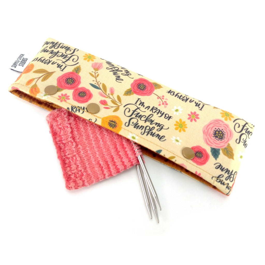 I'm a Ray of F*ing Sunshine </br> Needle Nook:Needle Nook,Slipped Stitch Studios:Slipped Stitch Studios