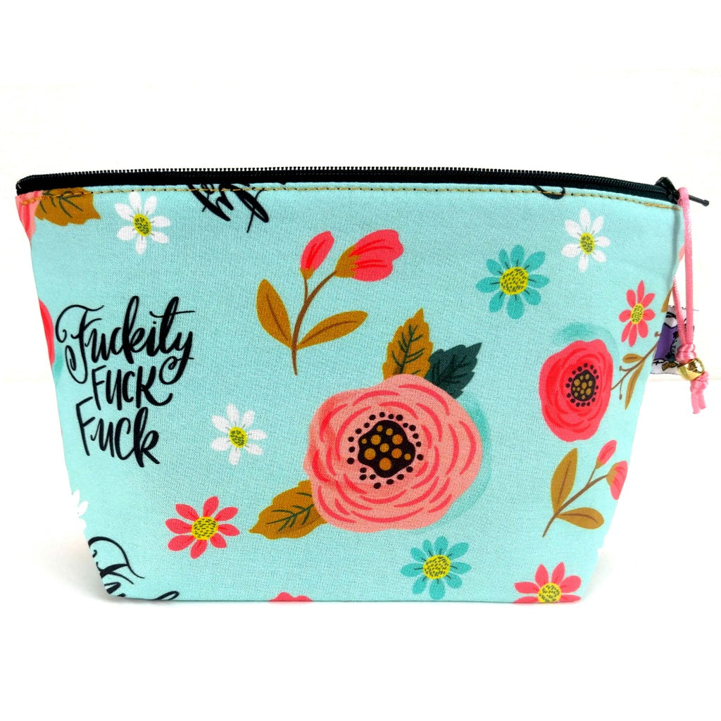 F*ity F* F* </br> Zipper Notion Pouch:Zipper Notion Pouch,Slipped Stitch Studios:Slipped Stitch Studios