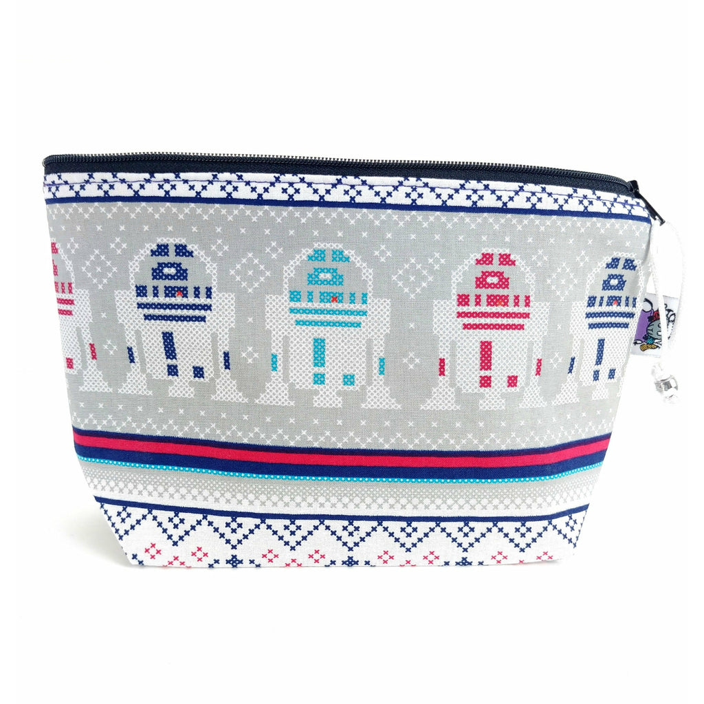 Rebel Sweater </br> Zipper Notion Pouch:Zipper Notion Pouch,Slipped Stitch Studios:Slipped Stitch Studios