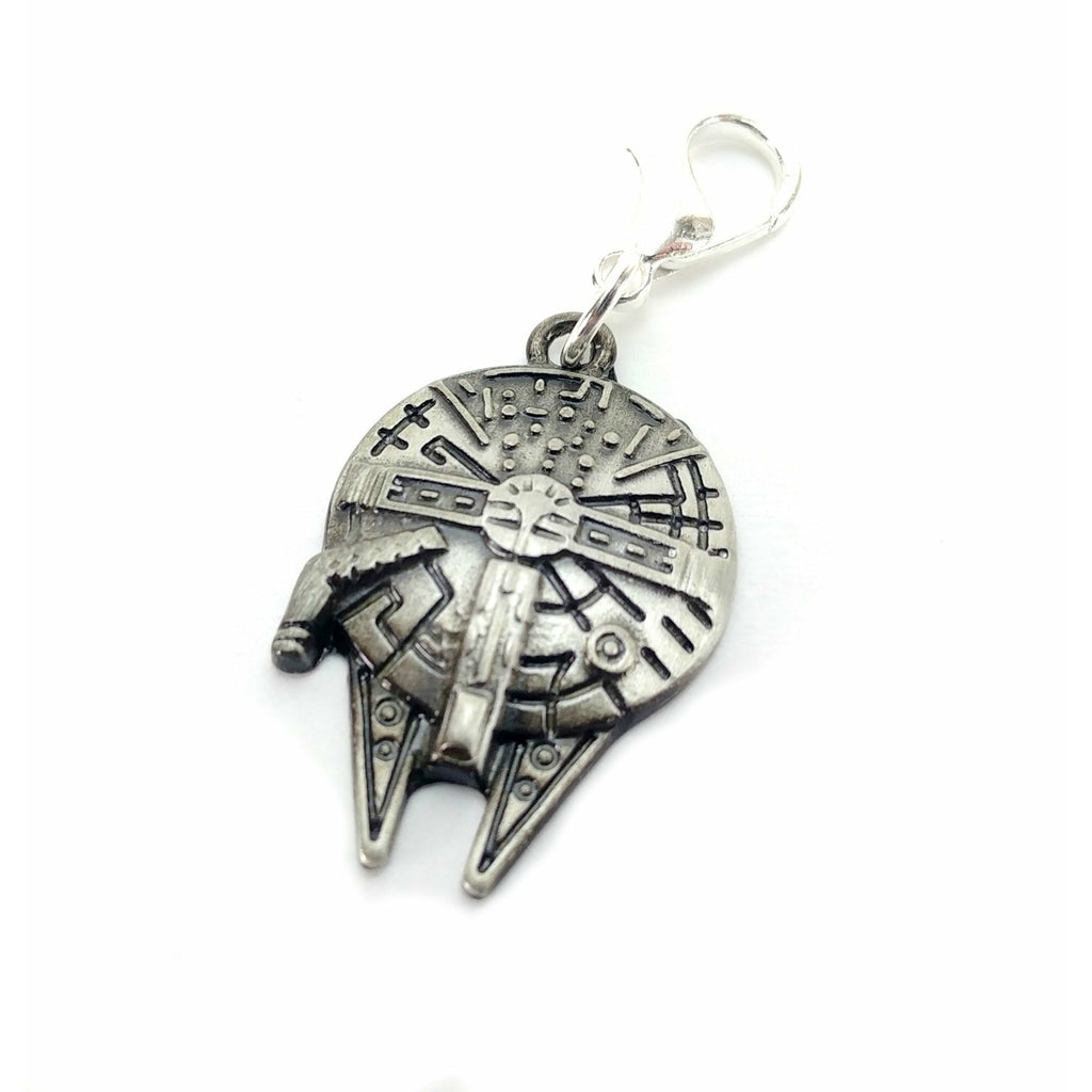 Millennium Falcon Pre-Order </br> Stitch Marker (Single):Stitch Markers,Slipped Stitch Studios:Slipped Stitch Studios