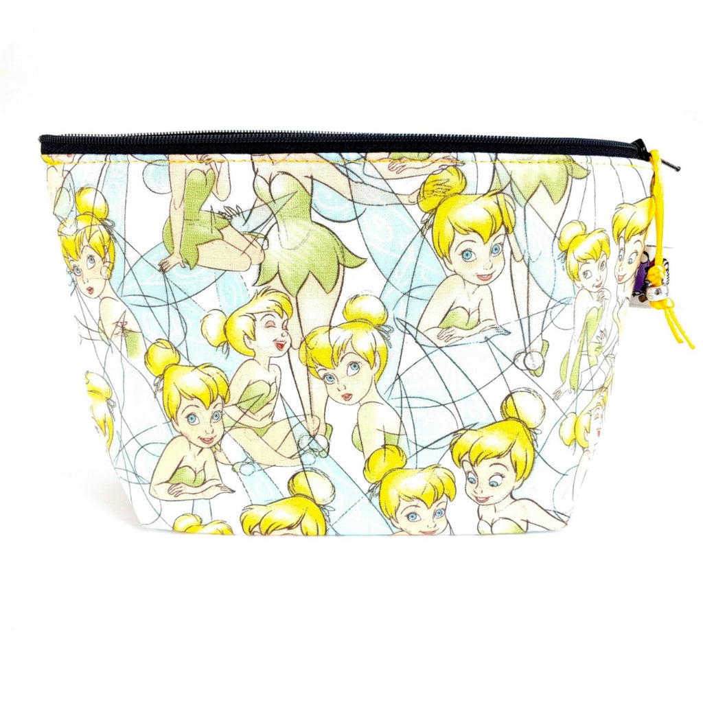 Tinker Bell </br> Zipper Notion Pouch:Zipper Notion Pouch,Slipped Stitch Studios:Slipped Stitch Studios