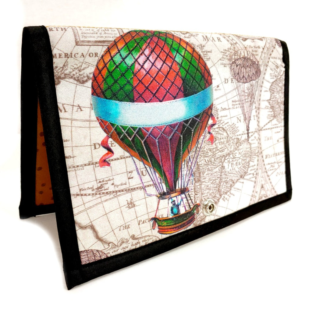 Airships & Gyrokopters </br> Pattern Holder & Stand </br> Knit & Crochet Pattern Organizer:Pattern Wallet,Slipped Stitch Studios:Slipped Stitch Studios