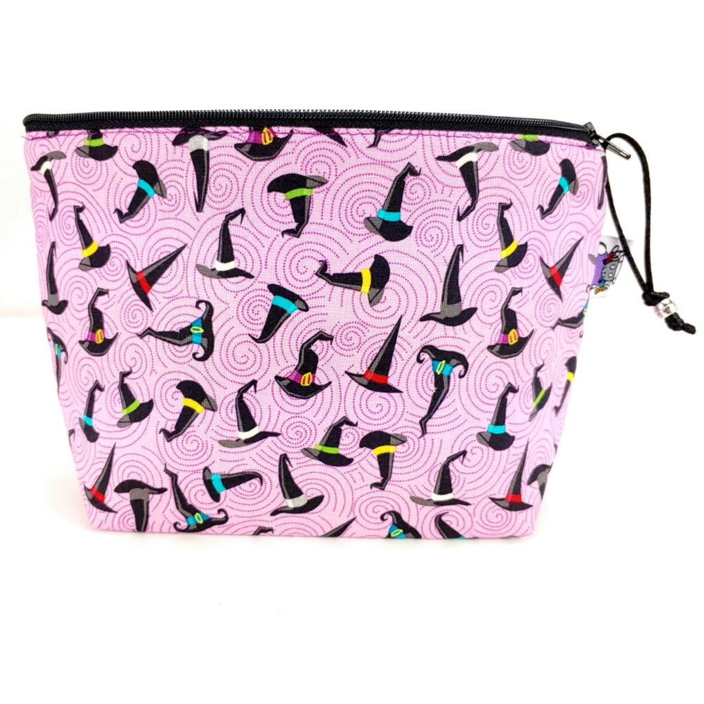 Stitchy Witchy </br> Zipper Notion Pouch (If Sold Out, Pre Order Available):Zipper Notion Pouch,Slipped Stitch Studios:Slipped Stitch Studios