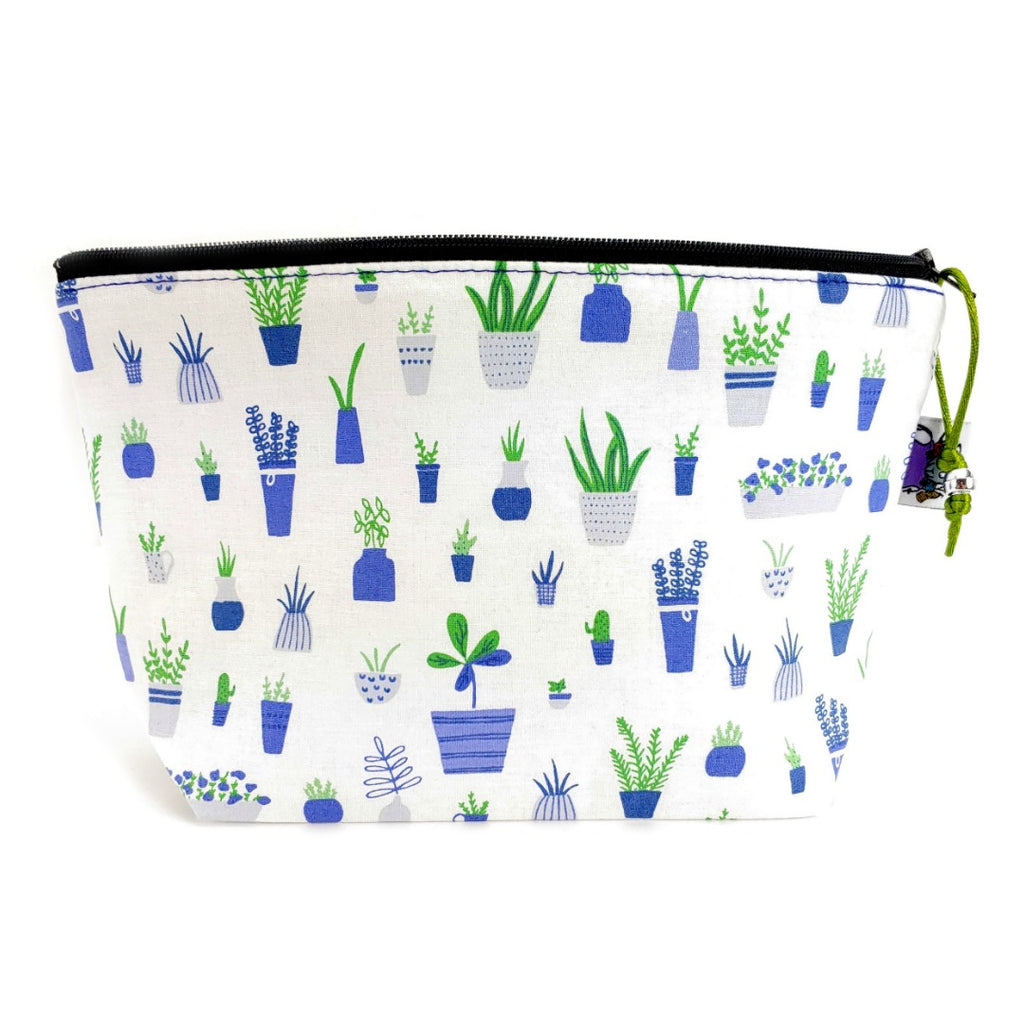 Plant Babies </br> Zipper Notion Pouch:Zipper Notion Pouch,Slipped Stitch Studios:Slipped Stitch Studios