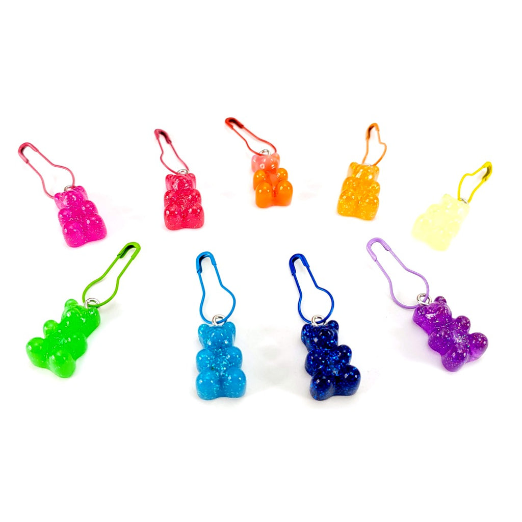 Gummies - Pick Your Favorite Colors (Plastic) </br> Stitch Marker (Single):Stitch Markers,Slipped Stitch Studios:Slipped Stitch Studios
