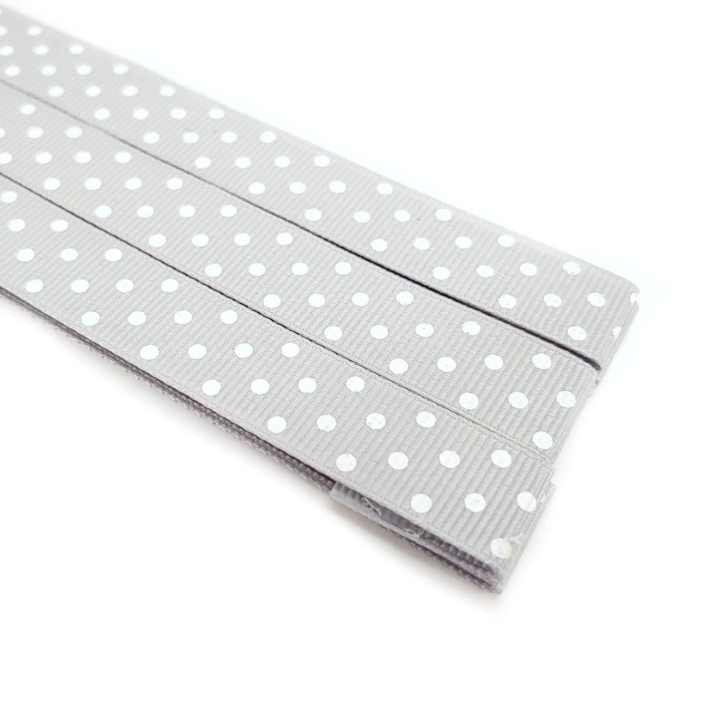 Polka Dots - Gray </br> Pattern Marker </br> Pack of 3 Magnets:Pattern Markers,Slipped Stitch Studios:Slipped Stitch Studios