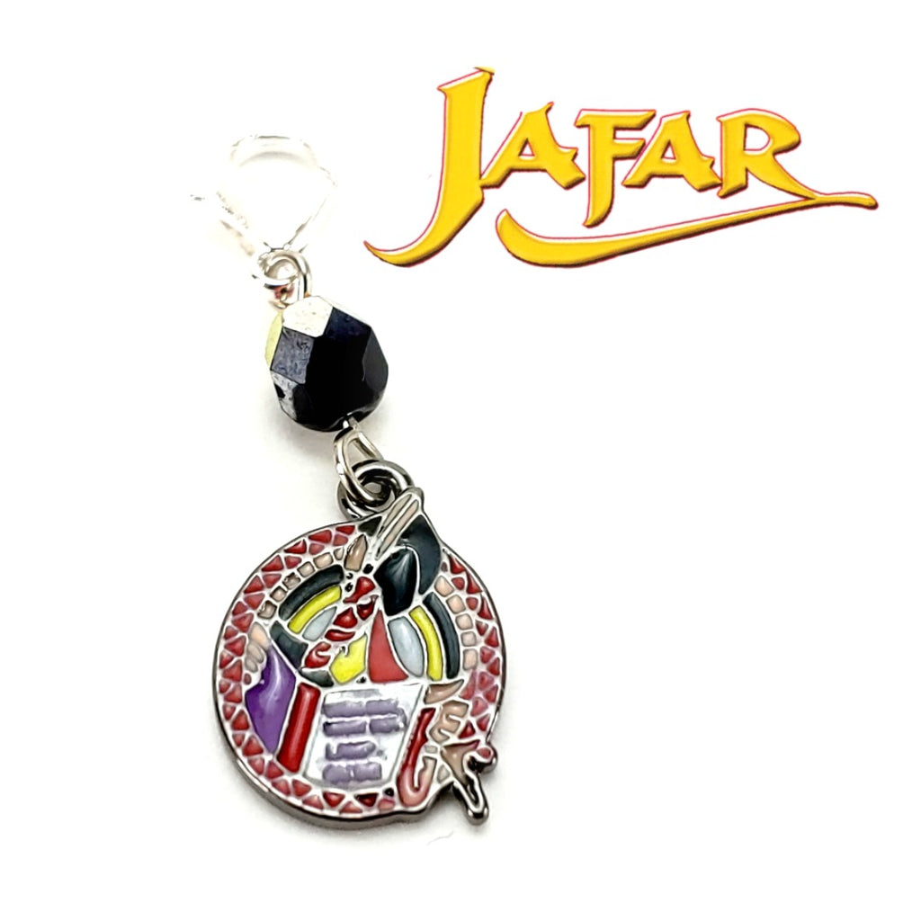 Jafar </br> Stitch Marker (Single):Stitch Markers,Slipped Stitch Studios:Slipped Stitch Studios