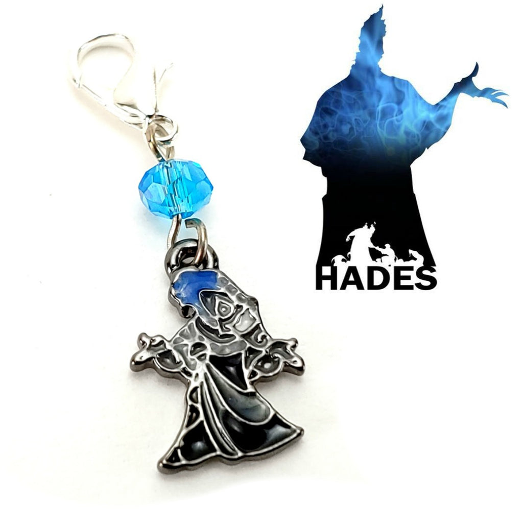 Hades </br> Stitch Marker (Single):Stitch Markers,Slipped Stitch Studios:Slipped Stitch Studios