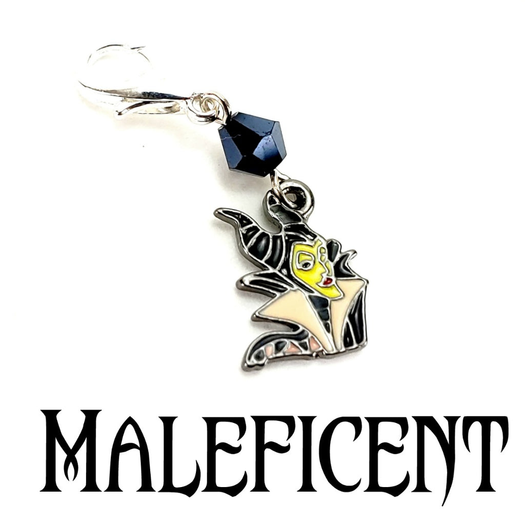 Maleficent </br> Stitch Marker (Single)