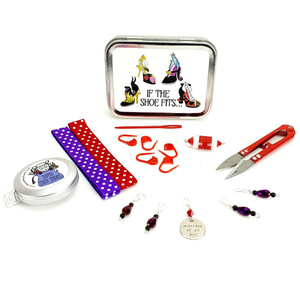 If the Shoe Fits... </br> Crafter's Tool Kit (Complete):Tool Box,Slipped Stitch Studios:Slipped Stitch Studios