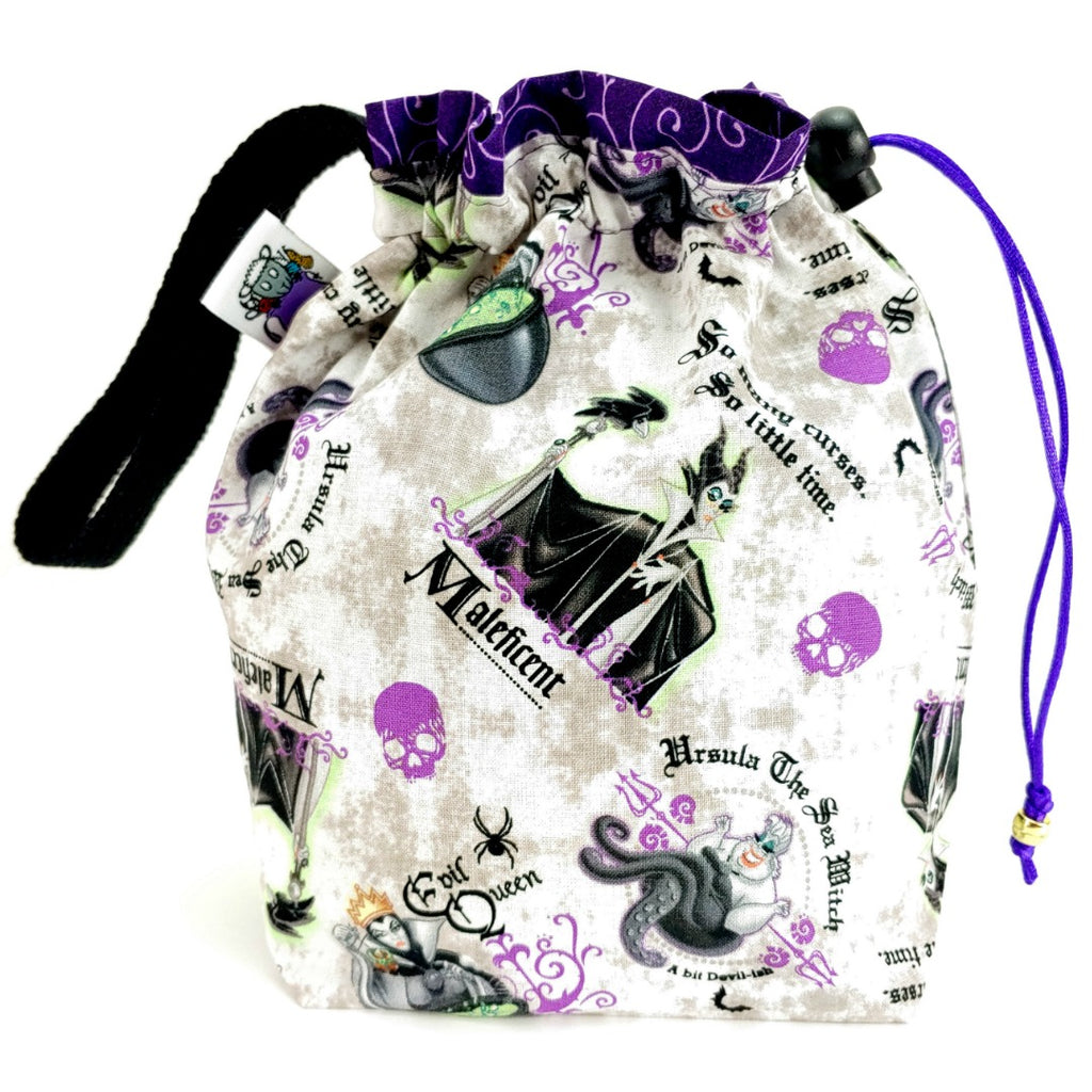 She's a Witch </br> Small Project Bag:Small Project Bag,Slipped Stitch Studios:Slipped Stitch Studios