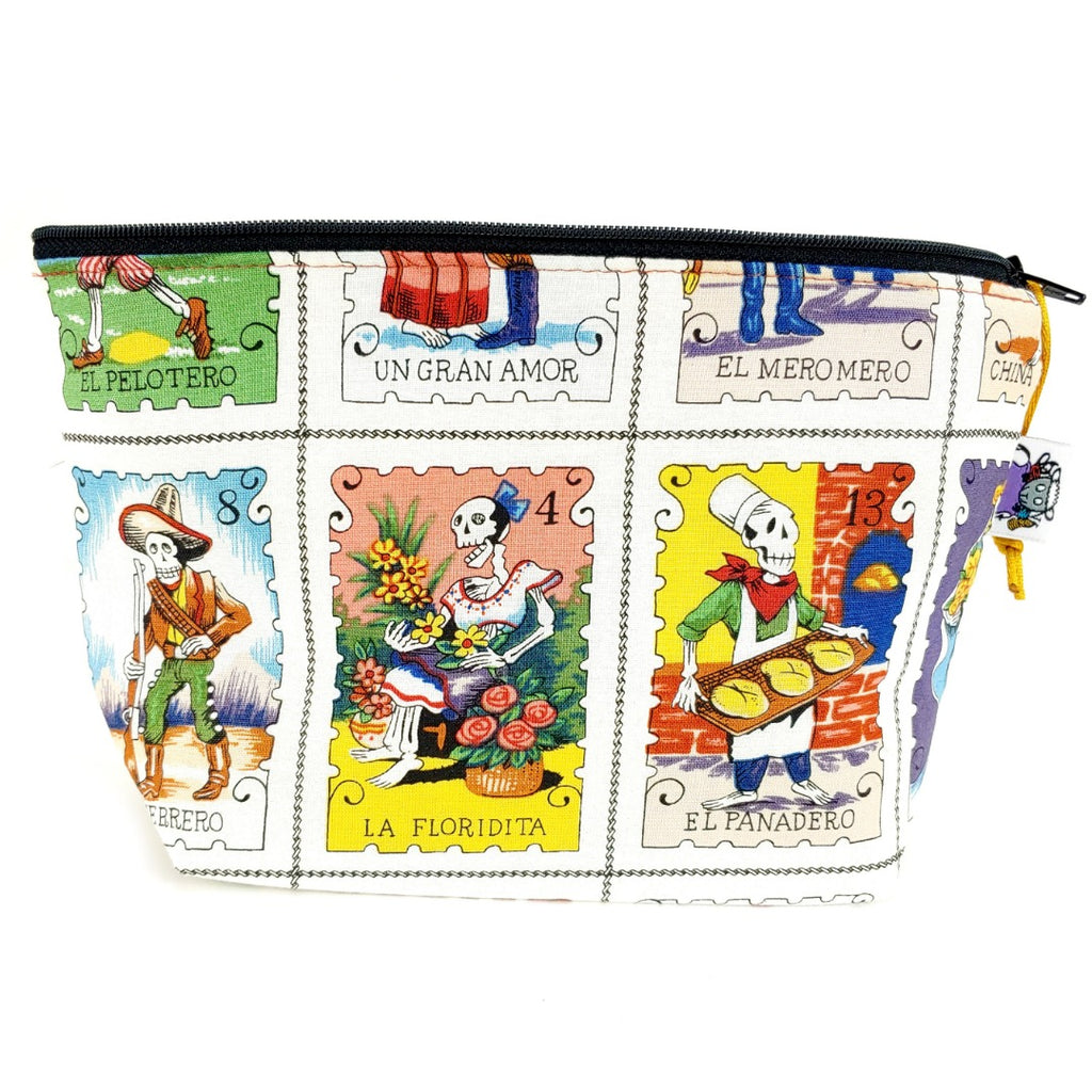Cartas Marcades </br> Zipper Notion Pouch:Zipper Notion Pouch,Slipped Stitch Studios:Slipped Stitch Studios