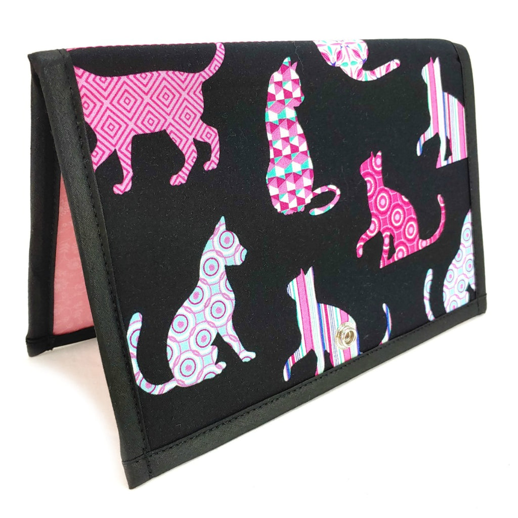 Cat </br> Pattern Holder & Stand </br> Knit & Crochet Pattern Organizer:Pattern Wallet,Slipped Stitch Studios:Slipped Stitch Studios