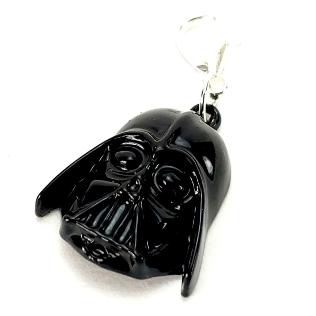 Darth Vader </br> Stitch Marker (Single):Stitch Markers,Slipped Stitch Studios:Slipped Stitch Studios