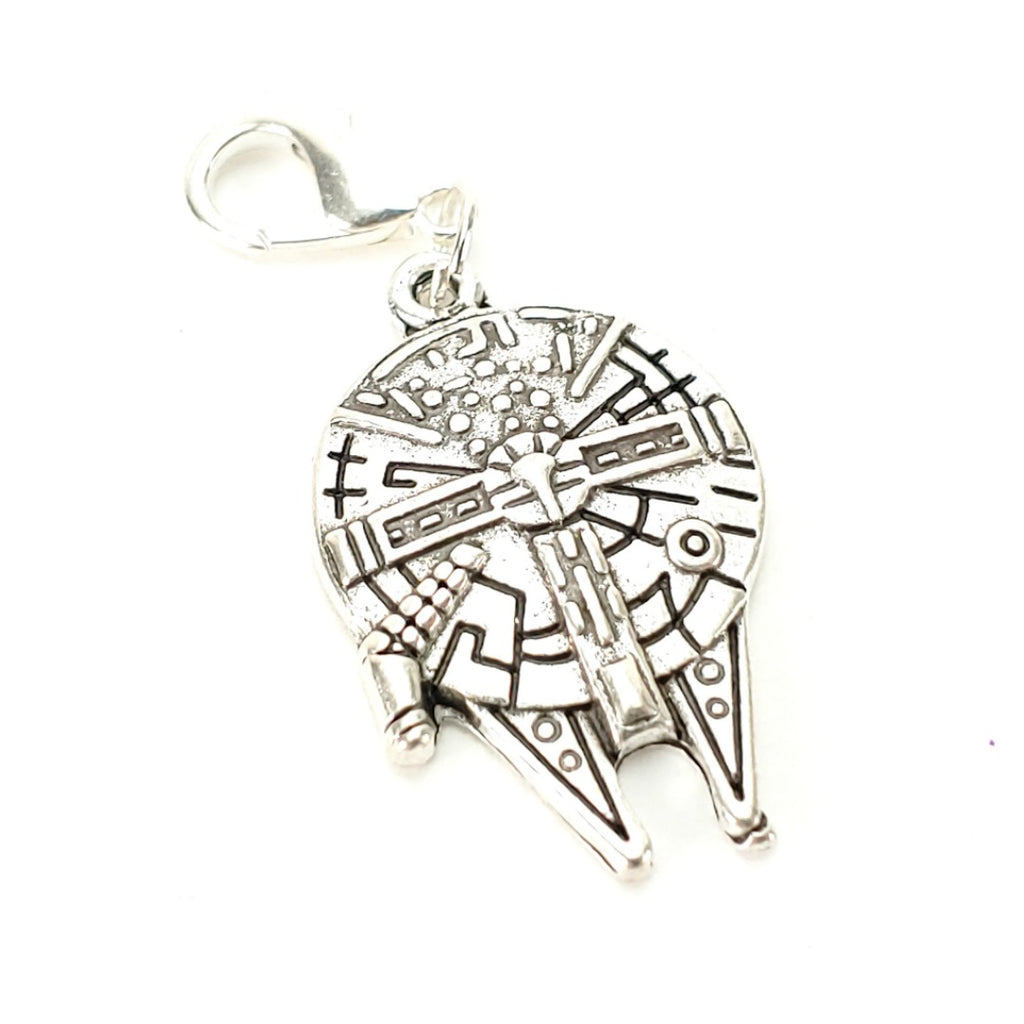 Millennium Falcon </br> Stitch Marker (Single):Stitch Markers,Slipped Stitch Studios:Slipped Stitch Studios