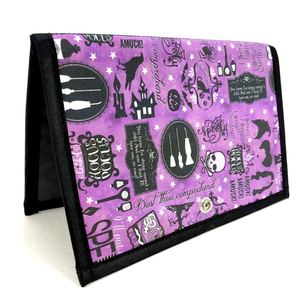 Hocus Pocus Returns </br> Pattern Holder & Stand </br> Knit & Crochet Pattern Organizer:Pattern Wallet,Slipped Stitch Studios:Slipped Stitch Studios