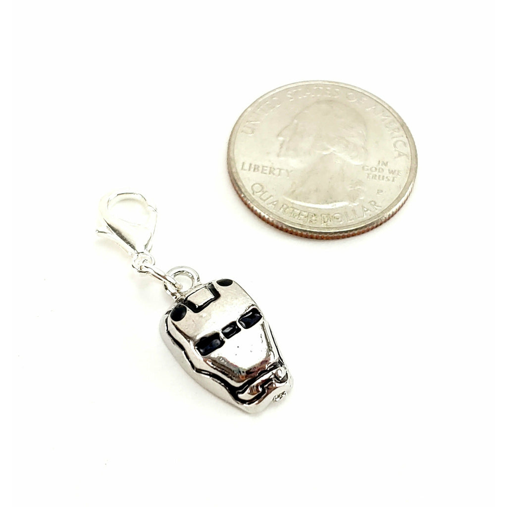 Iron Man </br> Stitch Marker (Single):Stitch Markers,Slipped Stitch Studios:Slipped Stitch Studios