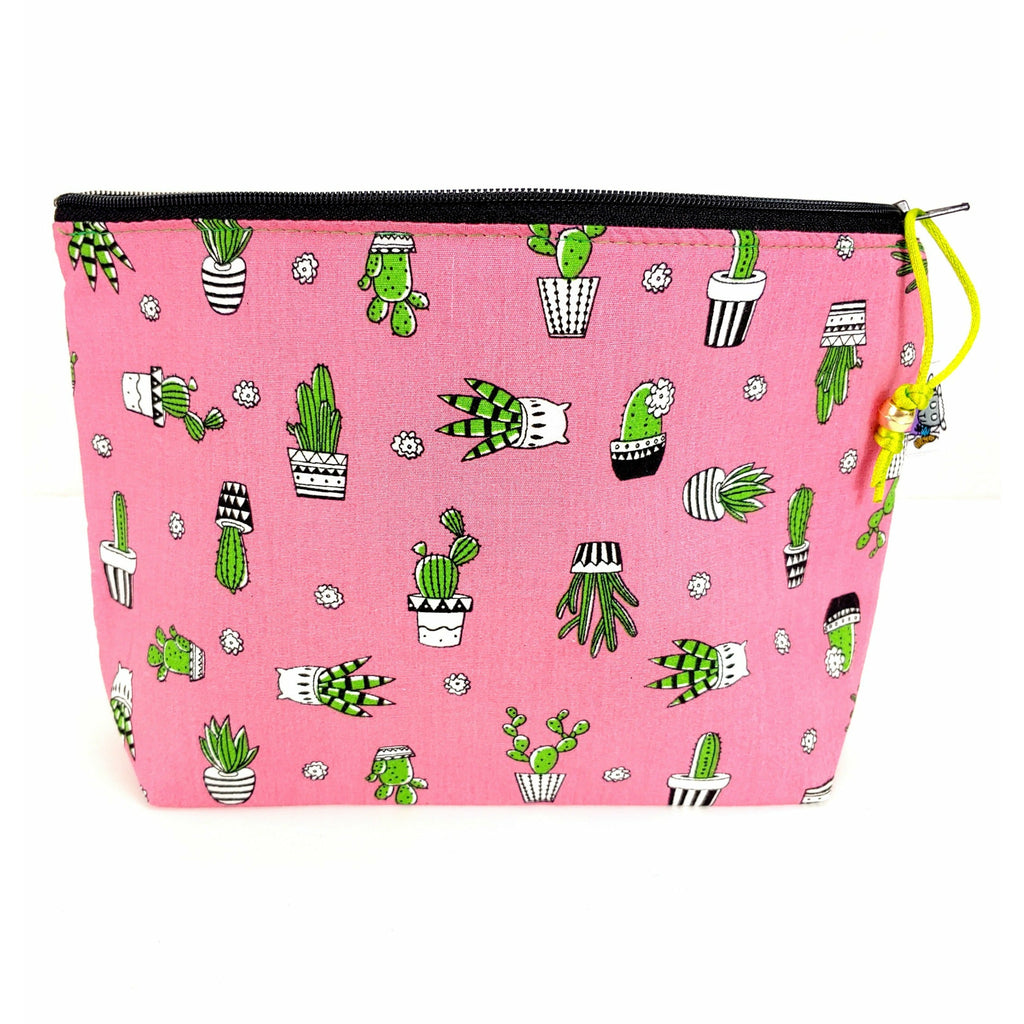 Cactus Cooler </br> Zipper Notion Pouch:Zipper Notion Pouch,Slipped Stitch Studios:Slipped Stitch Studios