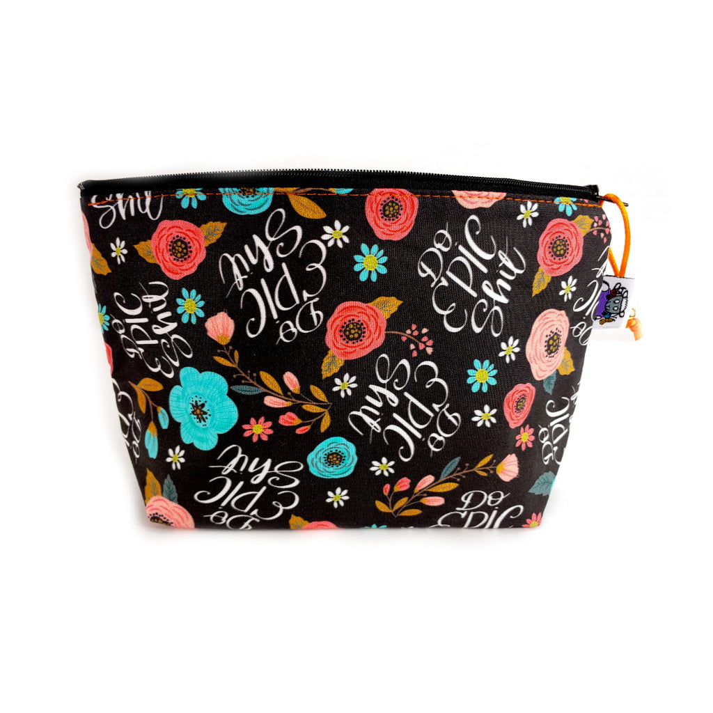 Do Epic S* </br> Zipper Notion Pouch:,:Slipped Stitch Studios