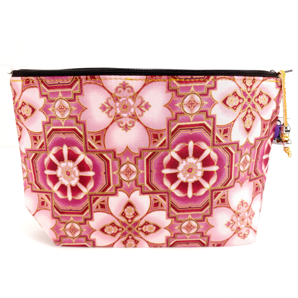 Pink Champagne (With Downton Abbey Option) </br> Zipper Notion Pouch:Zipper Notion Pouch,Slipped Stitch Studios:Slipped Stitch Studios