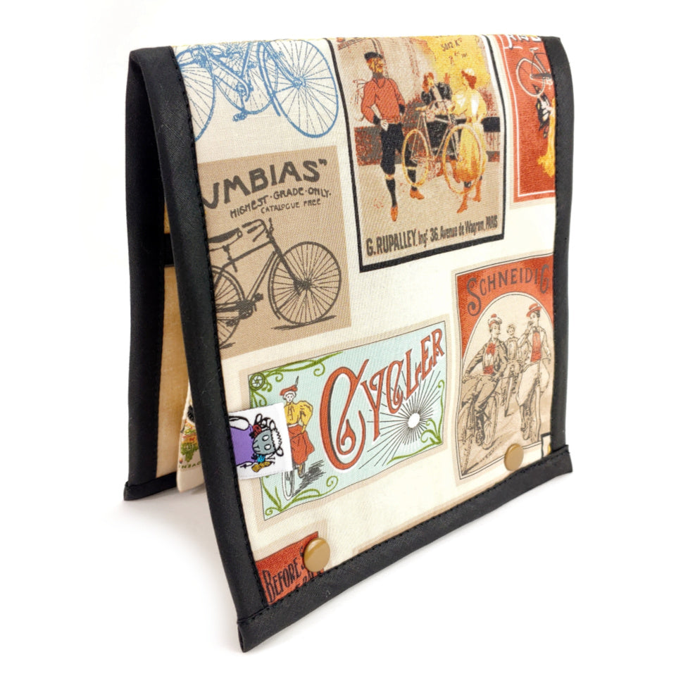 For the Love of Bicycles </br> Needle & Hook Organizer:Needle and Hook Organization,Slipped Stitch Studios:Slipped Stitch Studios