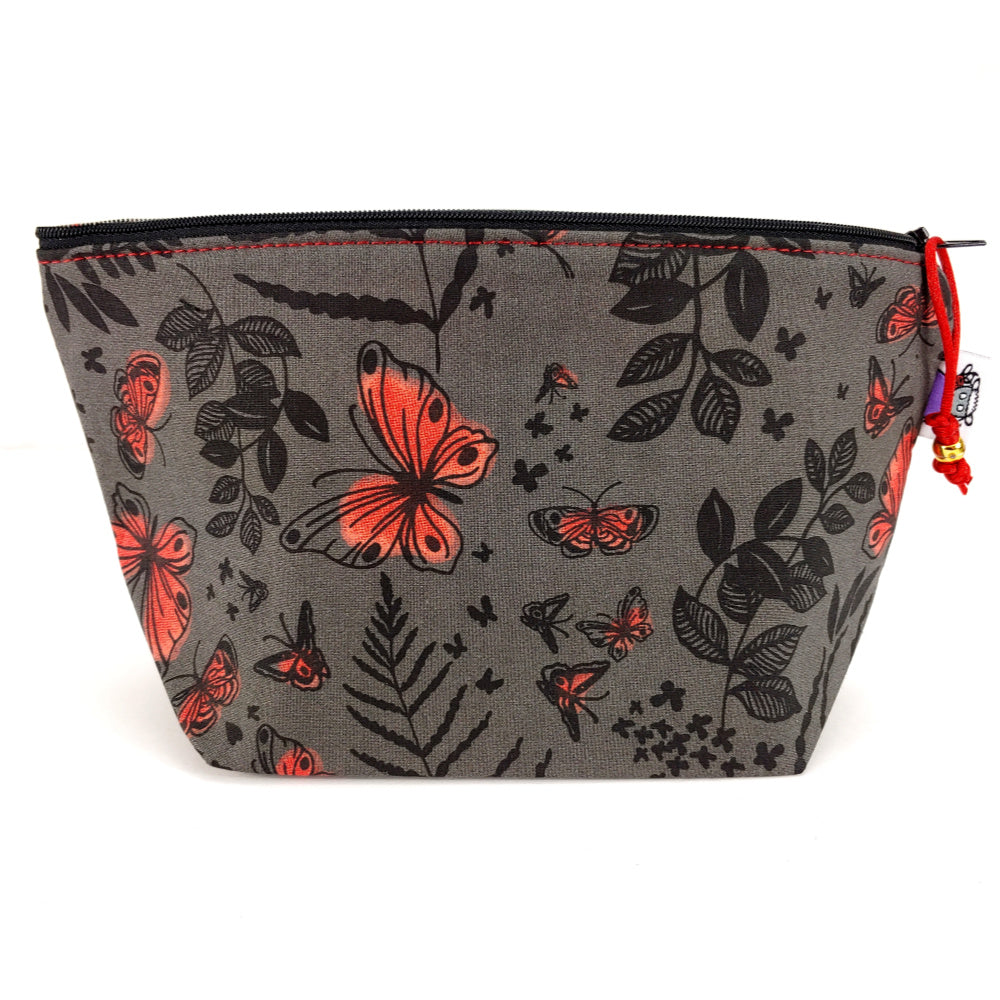 Midnight Garden </br> Zipper Notion Pouch:Zipper Notion Pouch,Slipped Stitch Studios:Slipped Stitch Studios