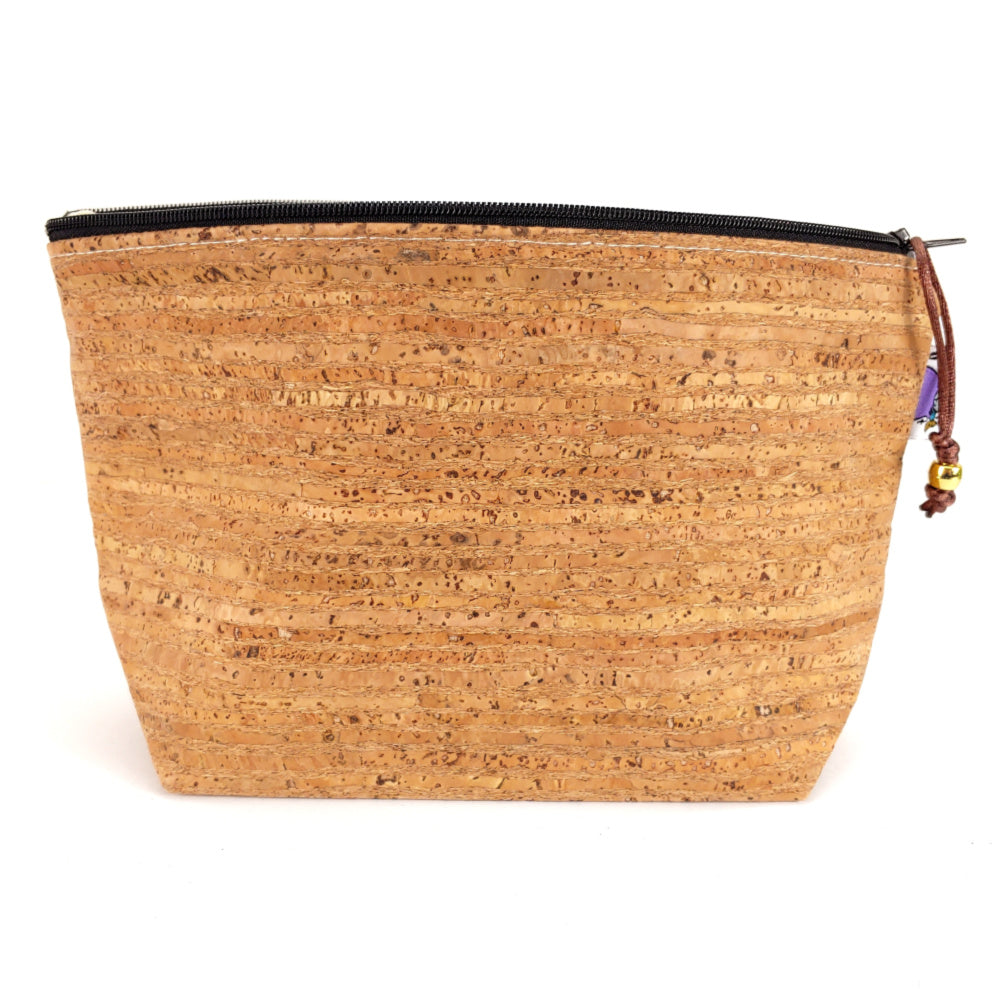 CORK! </br> Zipper Notion Pouch:Zipper Notion Pouch,Slipped Stitch Studios:Slipped Stitch Studios