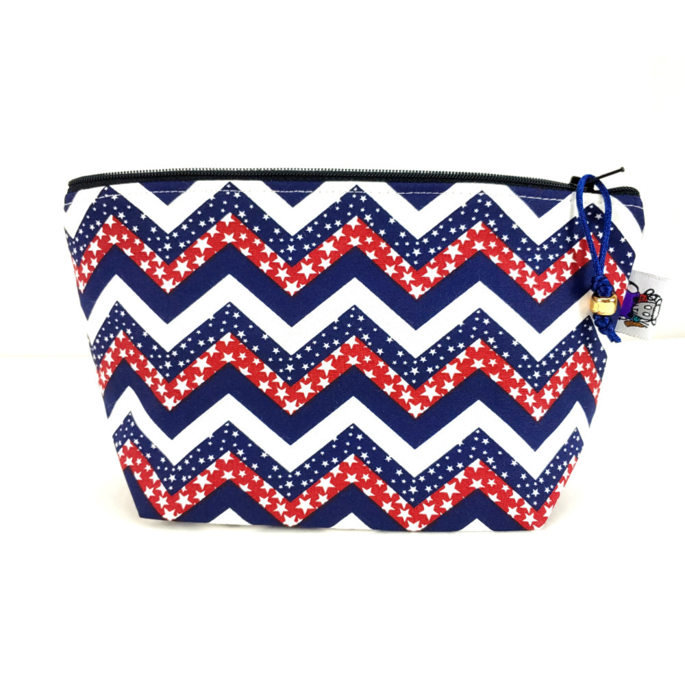 Stars and Stripes </br> Zipper Notion Pouch