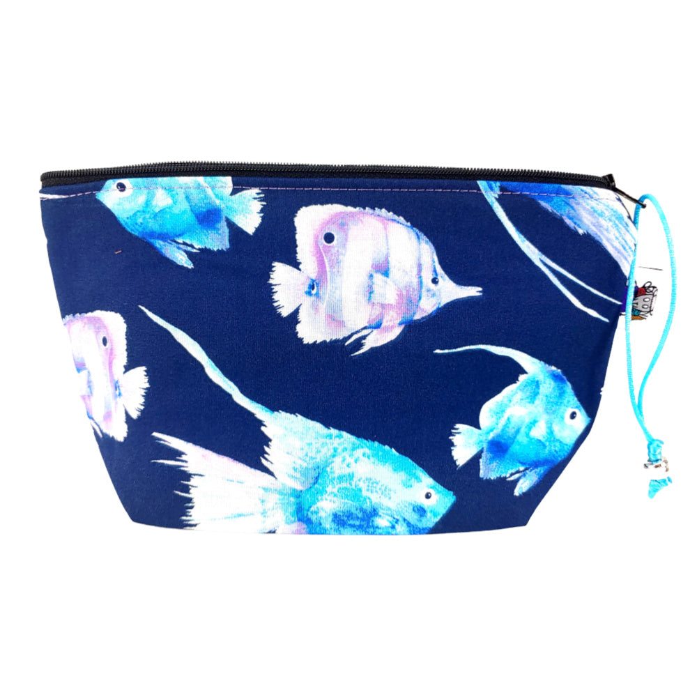 Watercolor Fish </br> Zipper Notion Pouch